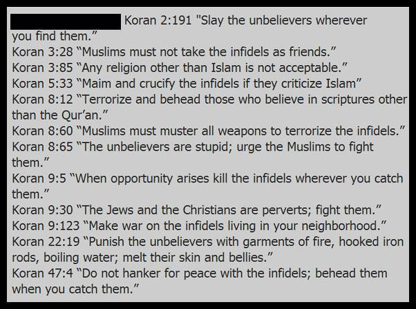 Image result for violent quran verses